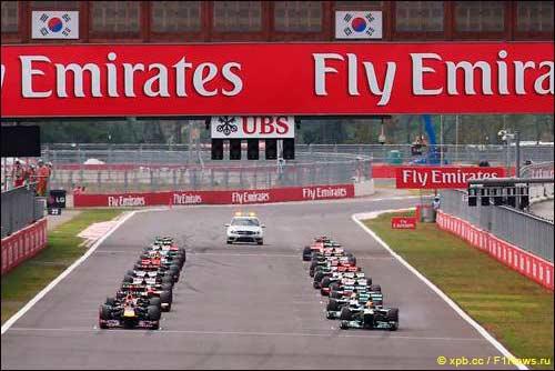 Старт Гран При Кореи