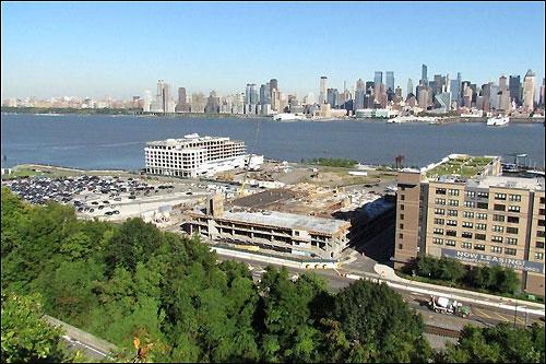 На месте будущей трассы в Нью-Джерси идут строительные работы