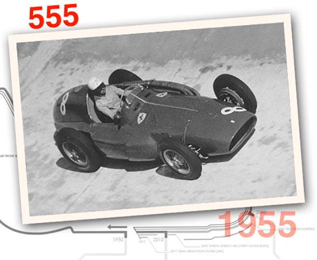 Ferrari 555 F1, 1955 год