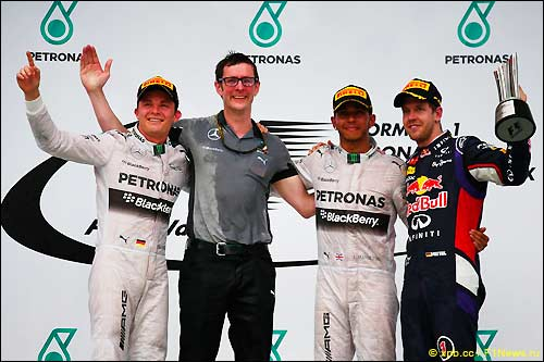 Подиум Гран При Малайзии