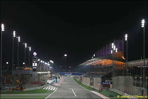 Стартовое поле Гран При Бахрейна 2014
