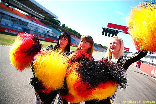 Стартовое поле Гран При Германии
