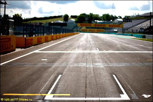 Стартовое поле Гран При Венгрии 2014