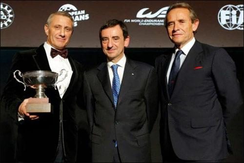 Борис Ротенберг, Пьер Филлон, президент автоклуба ACO (Франция) и Жаки Икс