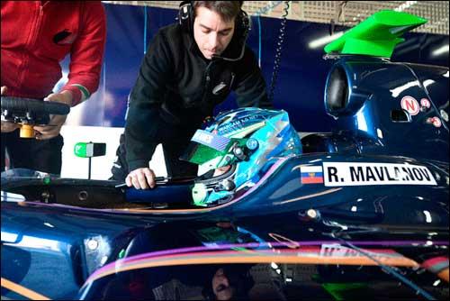 Роман Мавланов на тестах Zeta Corse