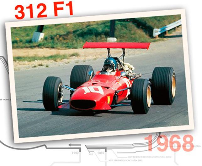 Ferrari 312 F1, 1968 год