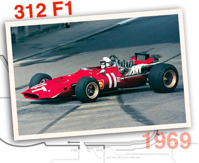 Ferrari 312 F1, 1969 год