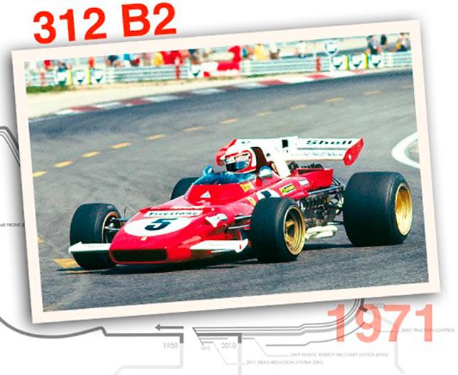 Ferrari 312 B2, 1971 год