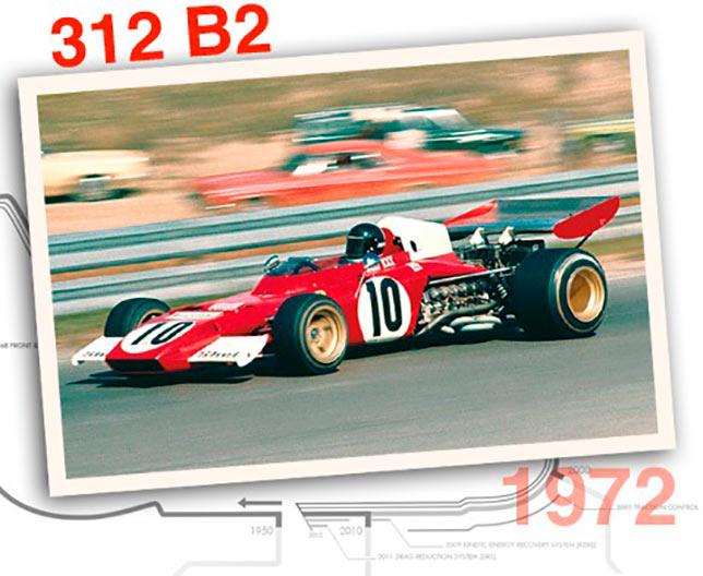 Ferrari 312 B2, 1972 год