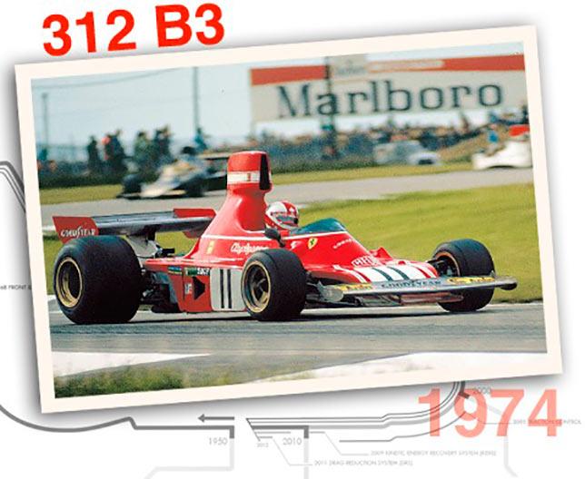 Ferrari 312 B3, 1974 год