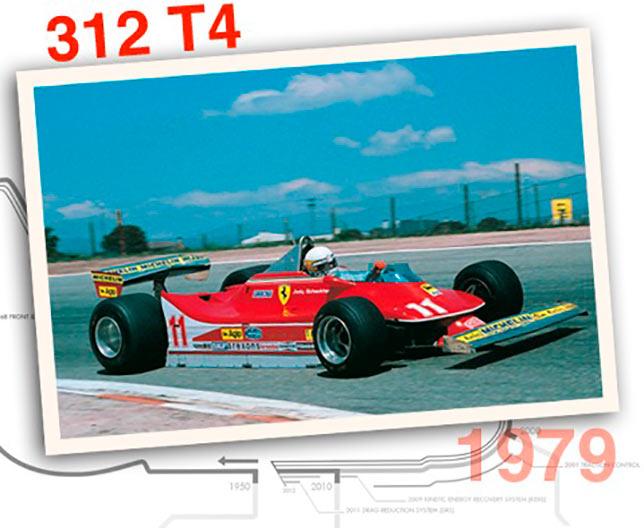 Ferrari 312 T4, 1979 год
