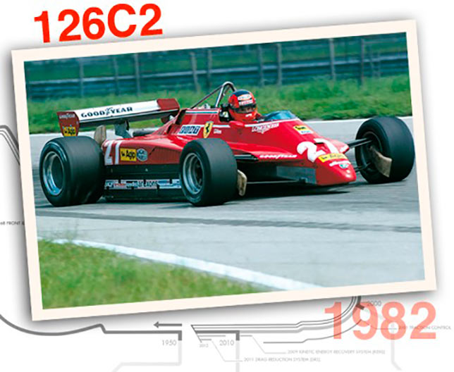 Ferrari 126 C2, 1982