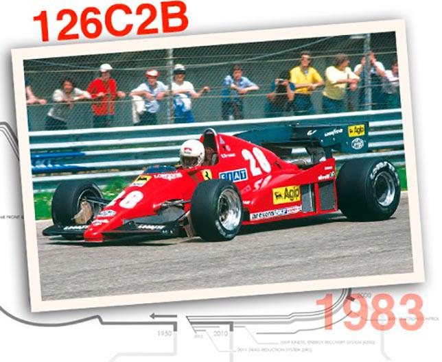 Ferrari 126 C2B, 1983 год