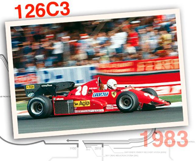 Ferrari 126 C3, 1983 год