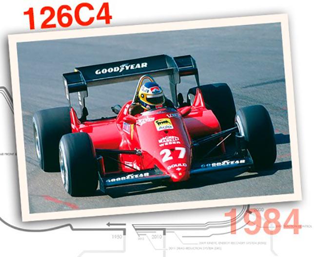 Ferrari 126 C4, 1984 год