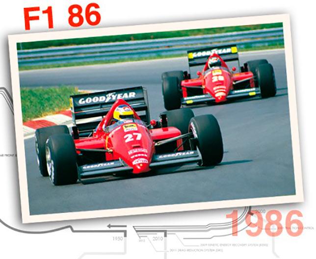 Ferrari F1-86, 1986 год