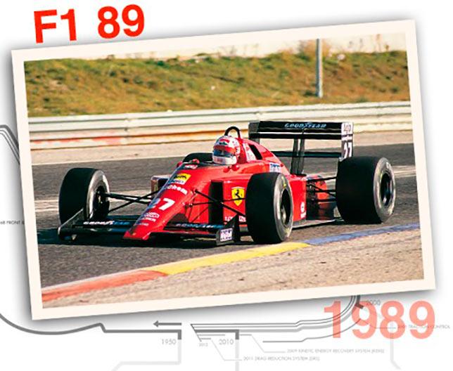 Ferrari F1-89, 1989 год