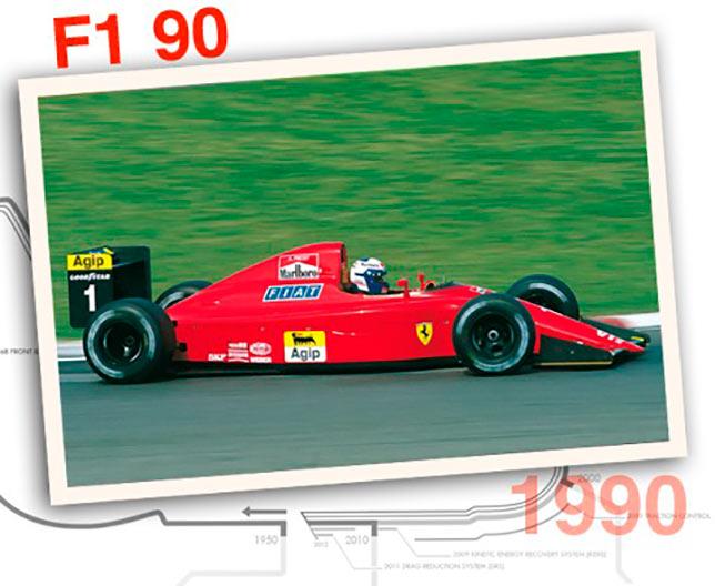 Ferrari F1-90, 1990 год