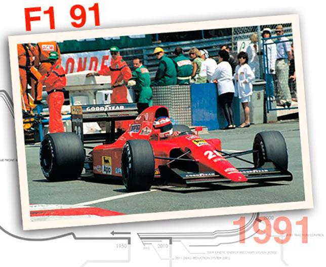 Ferrari F1-91, 1991 год