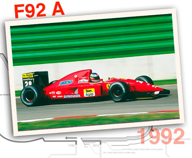 Ferrari F92 A, 1992 год