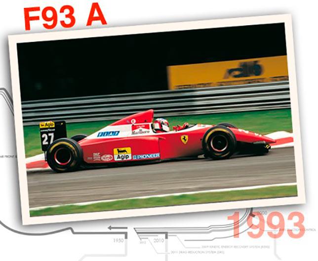 Ferrari F93 A, 1993 год