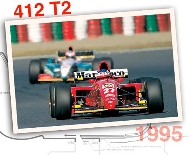 Ferrari 412 T2, 1995 год