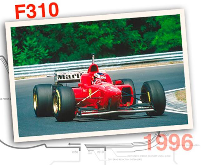 Ferrari F310, 1996 год