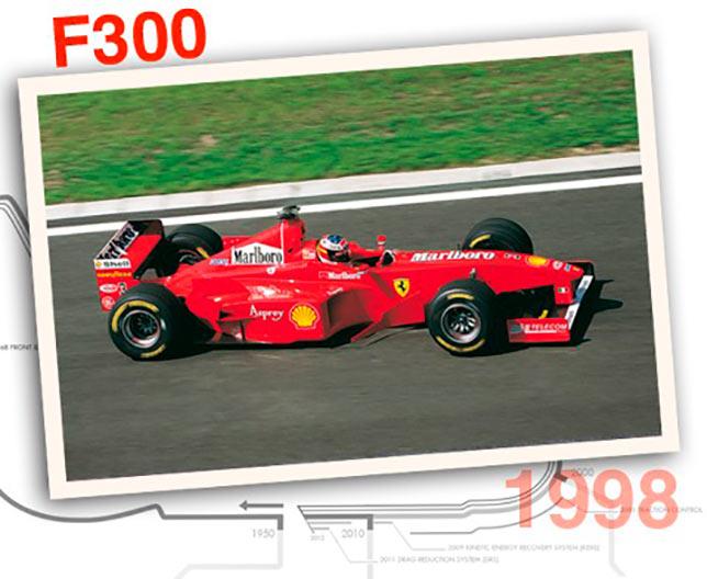 Ferrari F300, 1998 год