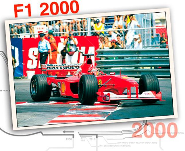 Ferrari F1 2000, 2000 год