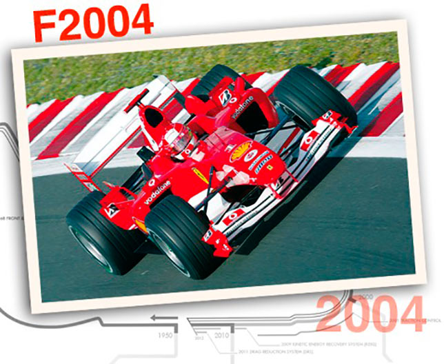 Ferrari F2004, 2004 год