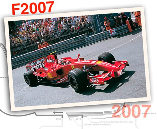 Ferrari F2007, 2007