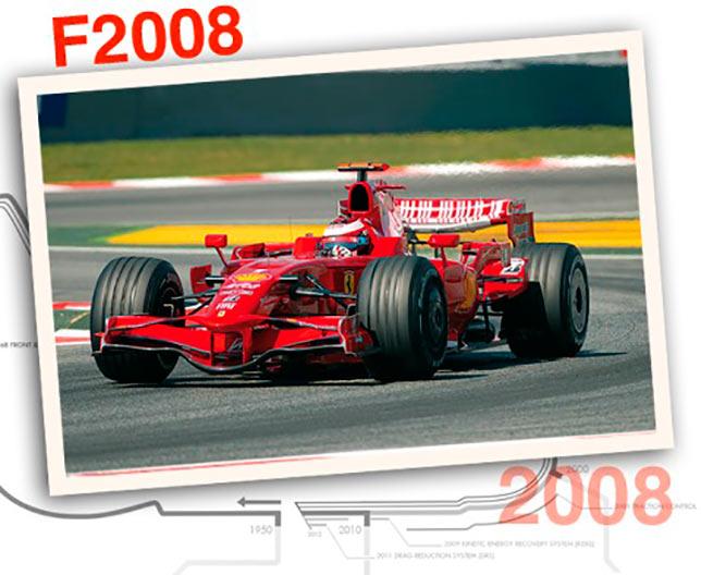 Ferrari F2008, 2008 год