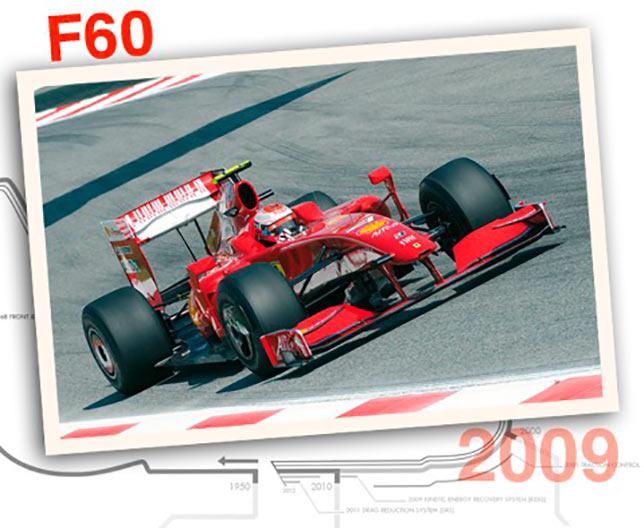 Ferrari F60, 2009 год