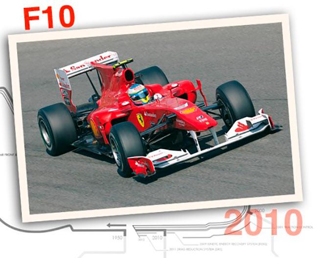 Ferrari F10, 2010 год