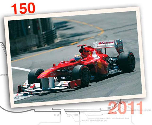 Ferrari 150° Italia, 2011 год