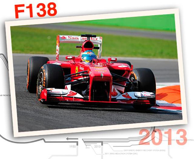 Ferrari F138, 2013