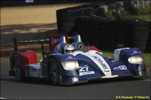 Сергей Злобин за рулем SMP Racing