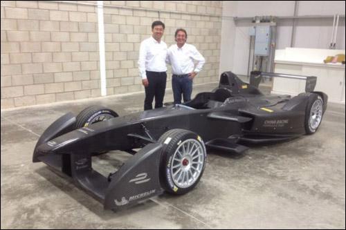 Стивен Лу, руководитель команды China Racing, и Адриан Кампос, владелец Campos Racing