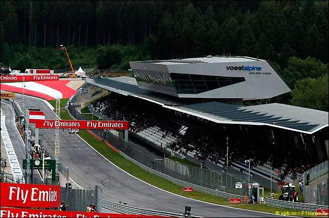 Стартовое поле Гран При Австрии 2015