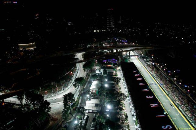 Стартовое поле Гран При Сингапура 2015