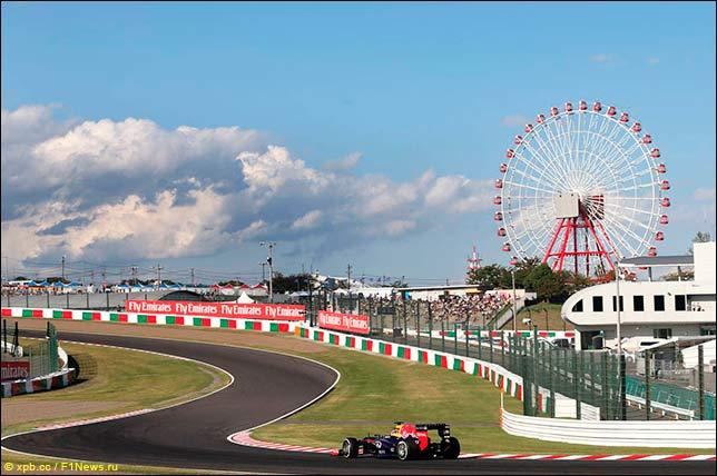 Хэмилтон одержал победу квалификацию Гран-при Японии