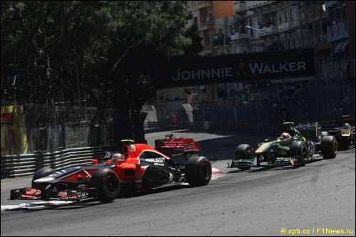 Жером Д'Амброзио на трассе Гран При Монако