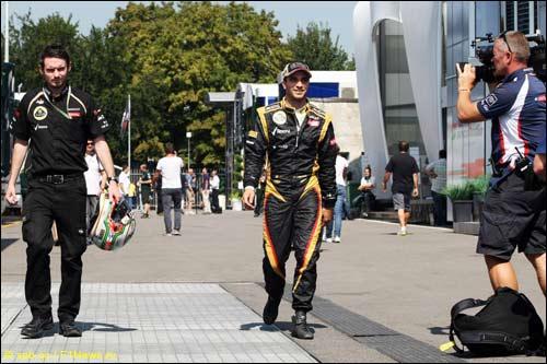 Жером Д'Амброзио на Гран При Италии