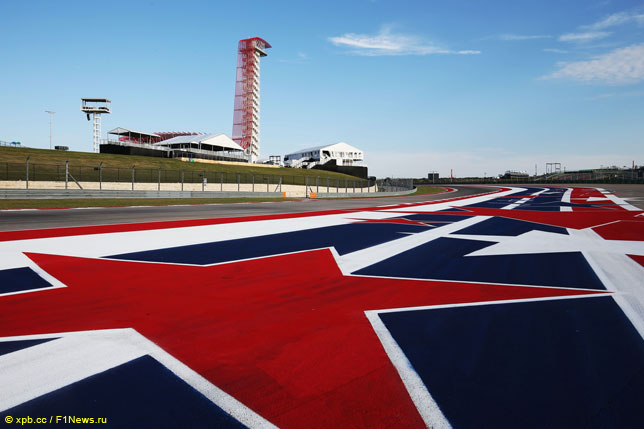 Панорама Circuit of the Americas