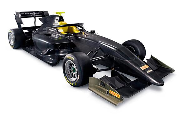 В Абу-Даби представлена машина Формулы 3 2019 года