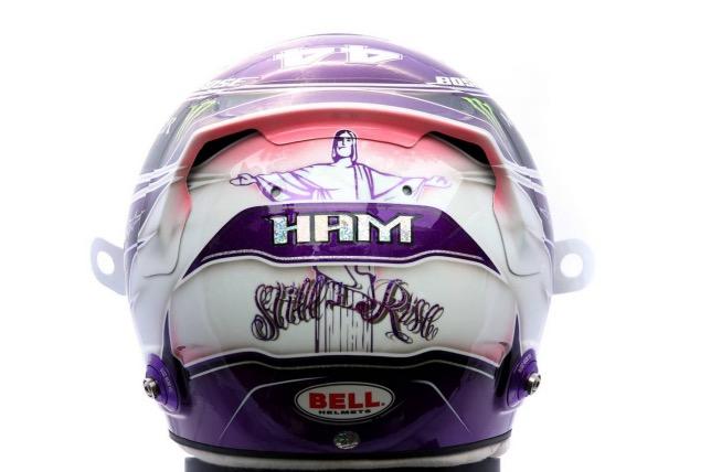 Девиз Льюиса Хэмилтона – часть оформления его шлема