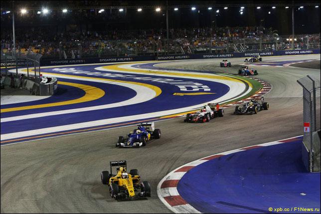 Кевин Магнуссен на Гран При Сингапура