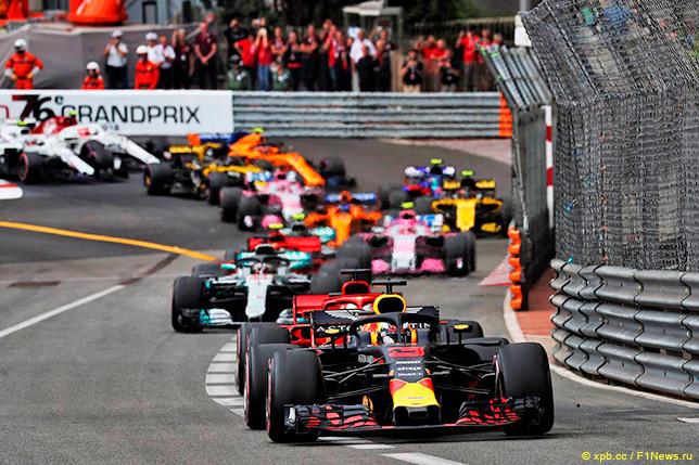 Первый круг Гран При Монако