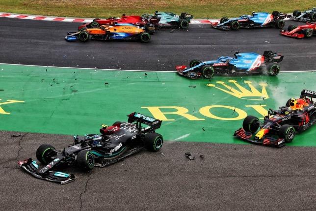 Таким был старт Гран При Венгрии, фото XPB