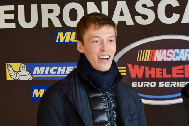 Даниил Квят на тестах европейской NASCAR. Фото: пресс-служба серии
